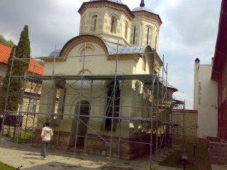 L'eglise de la monastere
