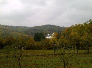 Eglise en automne
