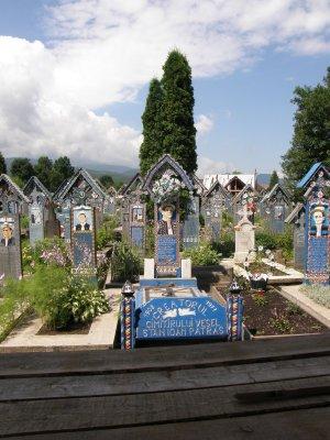 Le tombeau du createur du cimetiere joyeux